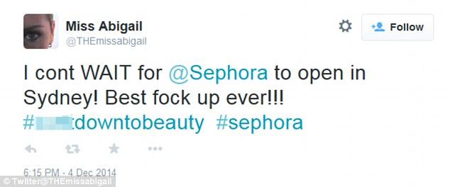 Sephora twitter 2